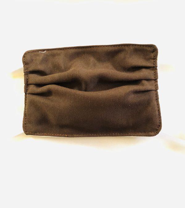 Masque de protection marron